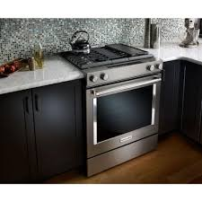 Slide In Cooktop Gas Cooktop With Downdraft Thermador 36 Inch Gas Range With