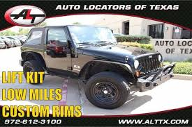 2009 jeep wrangler sport 2009 jeep wrangler x with lift and rims plano tx 19655665
