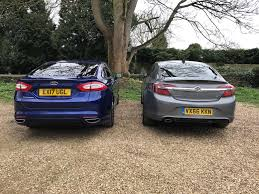 ford mondeo vs vauxhall insignia parkers