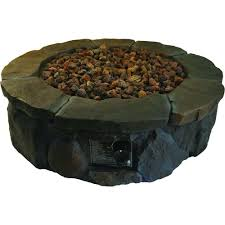 furniture square monaco stone propane fire pit for outdoor