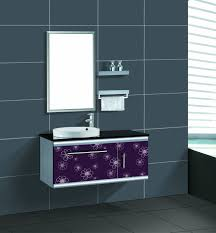 Retro Metal Kitchen Cabinets Stainless Steel Bathroom Vanity Cabinet Stainless Steel Bathroom