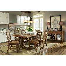 unfinished dining room tables international concepts canyon unfinished wood double x back dining