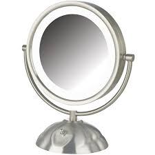 jerdon style euro design tri fold lighted mirror jerdon style led lighted vanity mirror jcpenney