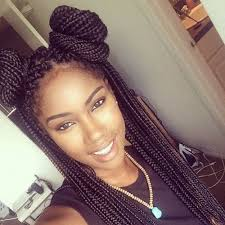 put your hair in a bun with braids 40 micro braids hairstyles herinterest com