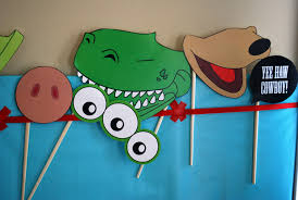 toy story photo booth props free printable pdf merriment design