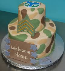 military welcome home cake cakecentral com