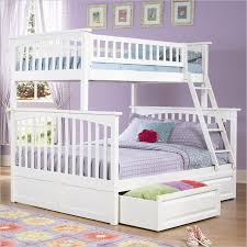 Full Size Bunk Bed Mattress Sale by Atlantic Furniture Columbia Twin Over Full Bunk Bed In White Ab55202