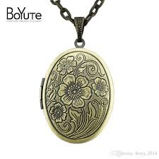 Personalized Charms Bulk Wholesale Boyute Bulk Sale 70cm Chain 23 29mm Oval Mens Open Photo