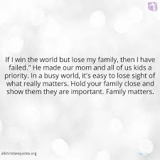 quotes about family john h osteen quote about family important win world
