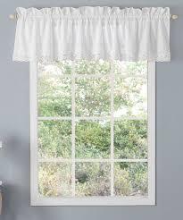 laura ashley home whitr valance annabella curtain panel zulily
