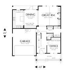 Floor Plan For Office 14 Best Floor Plans For Narrow Lots Images On Pinterest Floor