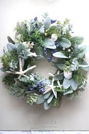 wreath of sea forest coastal decor for coastal