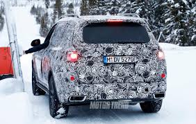 spied bmw x7 prototype takes on winter in sweden motor trend