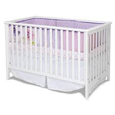 Child Craft Convertible Crib by Child Craft London Euro 3 In 1 Traditional Crib Matte White