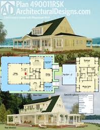 wrap around porch homes plan 490011rsk california farmhouse wraparound 2 and house