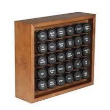 Morton And Bassett Spice Rack Amazon Com Kamenstein Criss Cross Bamboo 18 Jar Spice Rack With