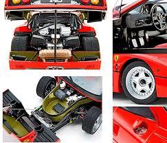 model f40 f40 diecast model car by kyosho 08413r