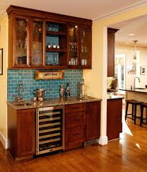 Bar Cabinet With Wine Cooler Sinks Back To Best Wet Bar Designs For Small Spaces Small Wet