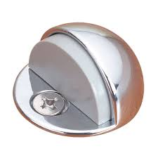 Baldwin Door Stops Amazon Com Brass Door Stop Chrome Dome Floor Mount Bumper Low