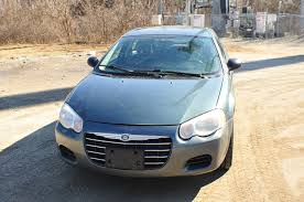 2007 chrysler sebring green metallic sedan car sale