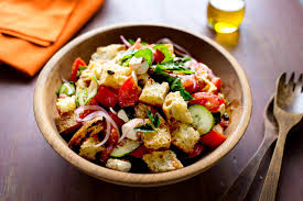 Ina Garten Greek Salad Panzanella With Mozzarella And Herbs Recipe Nyt Cooking