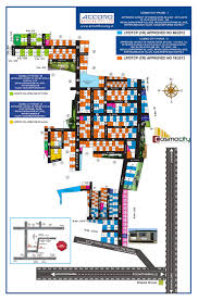 Layout Of House by Cosmo City Phase I