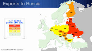 Map Of Eastern Europe And Russia by Europe U0027s Russian Connections Imf Blog