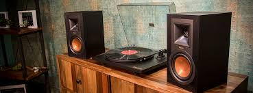 Bookshelf Speaker Amp Turntable Setup Guide For Passive And Powered Speakers Klipsch