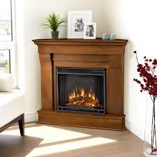 Fireplace Mantels Electric Shop Real Flame 40 9 In W 4 780 Btu Espresso Wood Corner Led