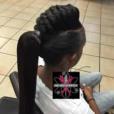 hair braided into pony tail 55 of the most stunning styles of the goddess braid