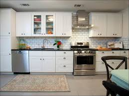 kitchen mosaic subway tile grey subway tile backsplash glass
