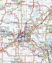 map of tulsa map of tulsa oklahoma 7 jpg vacations travel map