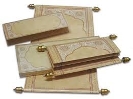 indian wedding scroll invitations s3 scroll card designed in the form of a royal letter http