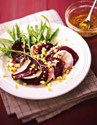 radis noir cuisine salade de betteraves et radis noir aux oeufs durs recipe