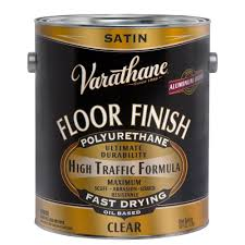 varathane 1 gal floor finish clear satin based interior