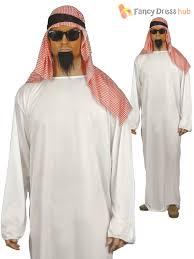 funny arabian sultan arab sheik mens fancy dress costume