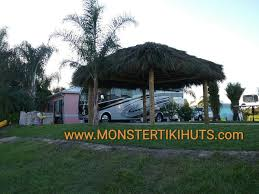tiki huts u0026 chickee huts for rv parks in florida monster tiki huts