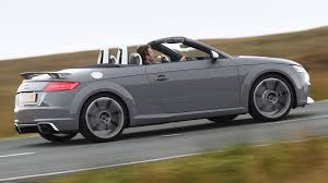audi tt rs roadster 2016 review by car magazine