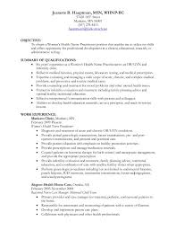 Sample Resumes For Hr Professionals by Jeanette Hauptman Whnp Resume
