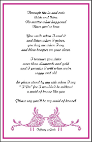 will you be my bridesmaid poems 16 best bridal party images on be my bridesmaid