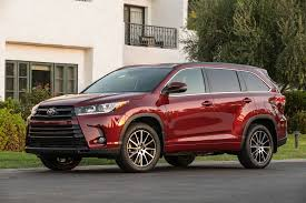 toyota highlander sales 2017 toyota highlander reviews and rating motor trend