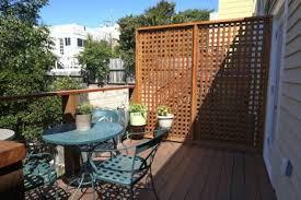 apartment balcony privacy interior design