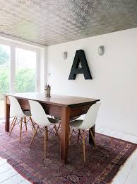 Eames Eiffel Armchair Metal Letters For Wall Dining Room Eclectic With Eames Eiffel