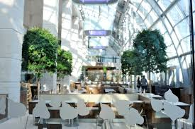 wintergarden refurbishment leslie jones architecture