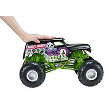 wheels monster jam grave digger truck wheels monster jam playsets track sets mattel shop