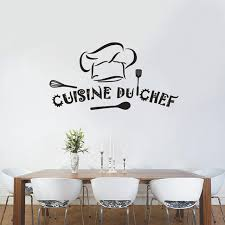 decoration du cuisine cuisine du chef vinyl wall stickers wallpaper sticker mural