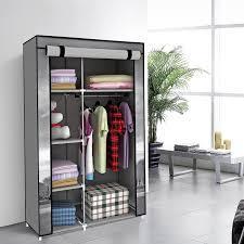 Cloth Closet Doors Furniture Portable Closet Clothes Wardrobe Mirrored Wardrobe