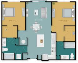 2 Bedroom Floor Plan Towson Maryland Luxury Apartments Flats At 703