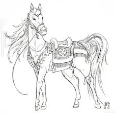 490 best coloring pages horses carousel images on pinterest