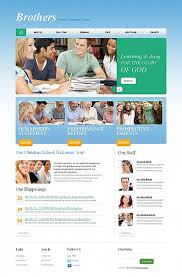 website templates education education portal e learning study
